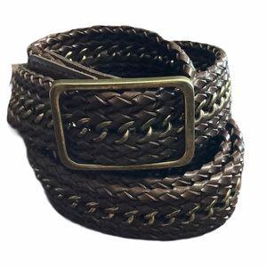 Talbots belts brown XL